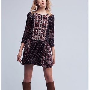 Anthropologie Kaleidoscope Shirt Dress